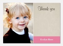 Miss RoseBerry - Birthday Thank You Cards