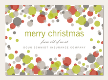 Corporate christmas cards christmas cards for business simply to non photo christmas cards reheart Gallery