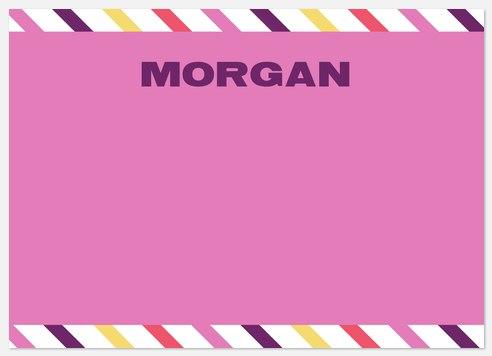 Border Pink Stripe