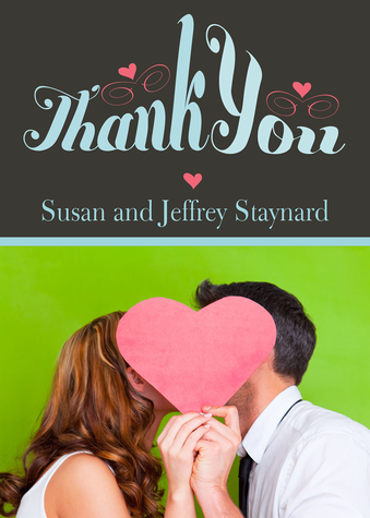 Wedding Thank You Cards, Heartful Thanks Design