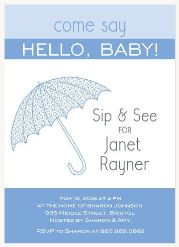 Umbrella Baby Blue