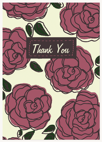 Thank You Cards for Women, Bloom Time Design