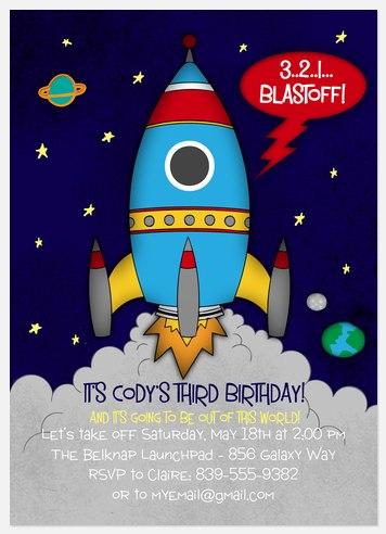 Birthday Blastoff