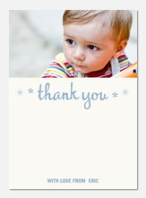 Mister Darling - Kids Thank You Cards