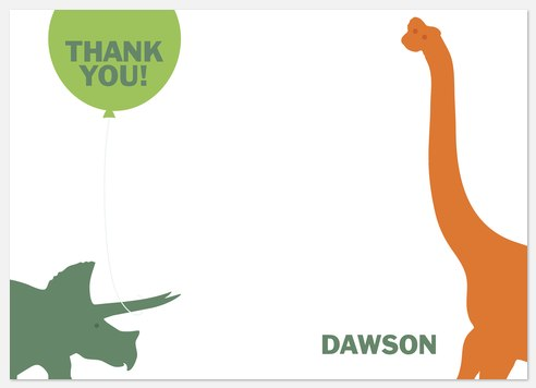 Dino Fun Thank You