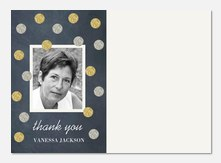Sparkle Day -  Birthday Thank You Photo Cards