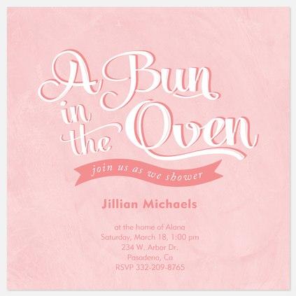 Pink Oven Bun