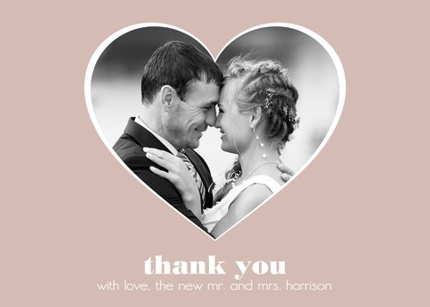 Thank You Cards , Open Hearts Design