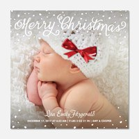Christmas Shine -  Baby Holiday Cards