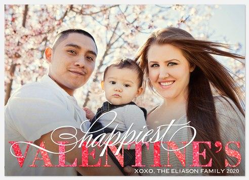 Modern Love Valentine Photo Cards