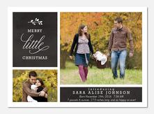 Joyful Introductions - Holiday Birth Announcements