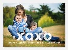 Valentine Cards - Stamped XO
