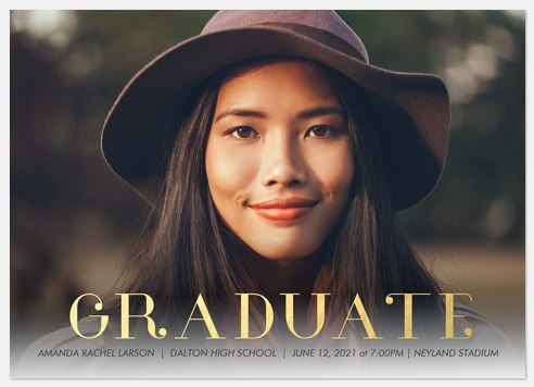 Sophisticated Prep Graduation Cards