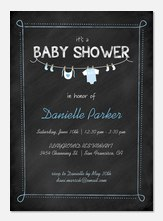 Sweet Onesie -  Baby Shower Invites