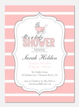 Baby Shower Invitations - Vintage Delight