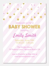 Baby Shower Invitations - Little Starlight