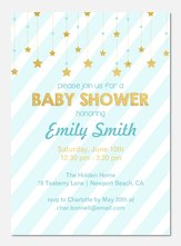 Little Starlight - Baby Shower Invitations