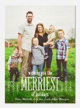 photo Christmas cards - Merriest Snowfall