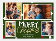 holiday cards - Christmas Polka Dots