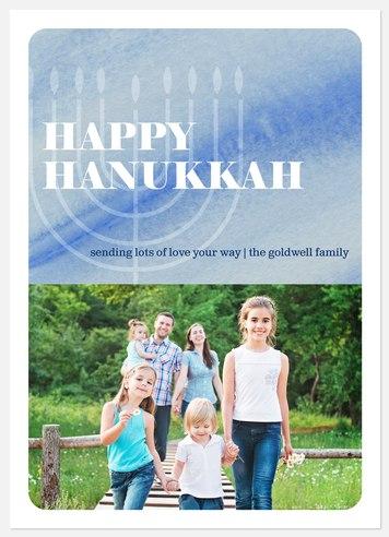 Hanukkah Spirit  Hanukkah Photo Cards