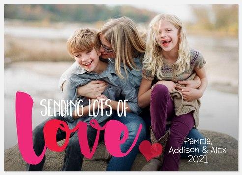 Lovely Message Valentine Photo Cards