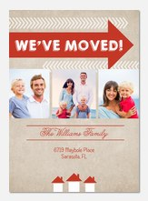 Right Direction  -  We've Moved Cards