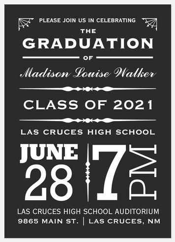 Grad Proclamation Graduation Cards
