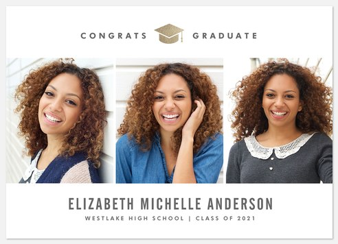 Brilliant Success Graduation Cards