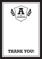Sophisticated Emblem