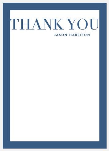 Mod Graduate Thank You Cards