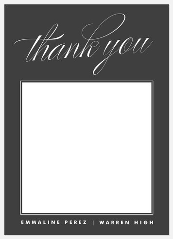 Polished Scholar Thank You Cards