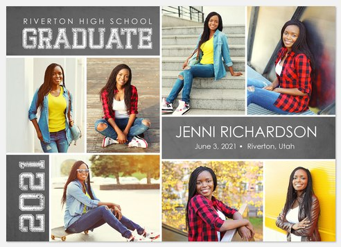 Valedictorian Graduation Cards