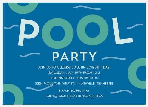 Stay Cool Kids' Birthday Invitations