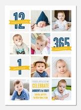 Birthday Collage  -  Birthday Invitations for Boys