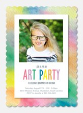Artistic Talent -  Birthday Invites