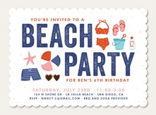 Birthday Invitations - Life's a Beach