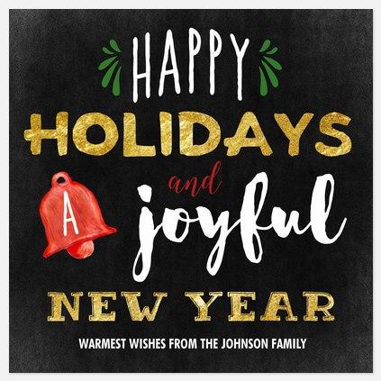 Shiny Tidings Holiday Photo Cards