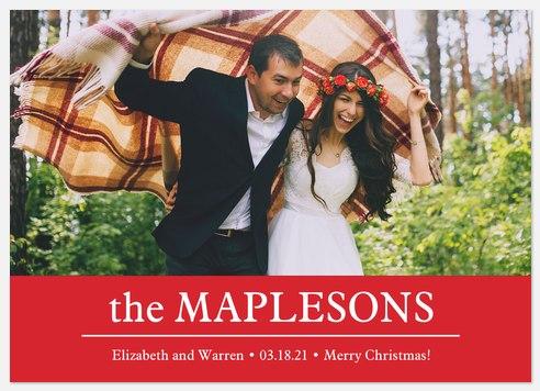 Dashing Greeting Holiday Photo Cards