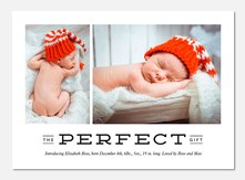 Baby Holiday Cards - Winter's Gift