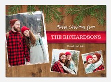 Christmas cards - Evergreen Boughs