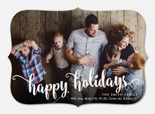 Charming Merriment - holiday photo cards