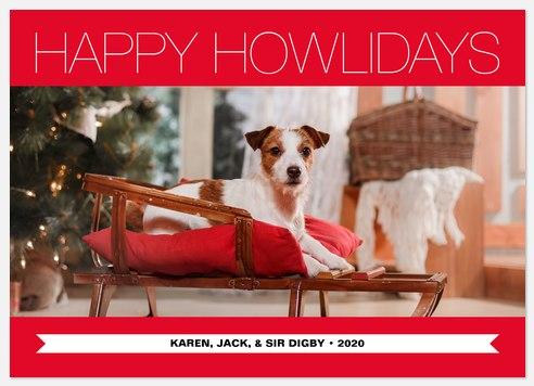 Howliday Fun Holiday Photo Cards