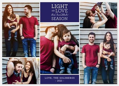 Light & Love Hanukkah Photo Cards
