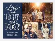Lots of Light -  Hanukkah cards