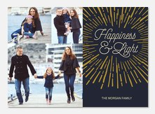 Luminous Burst -  Hanukkah cards