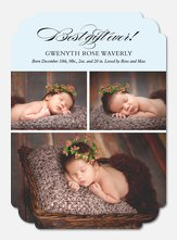 Christmas Birth Announcements - Grand Arrival