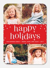 Holi Dots -  holiday cards
