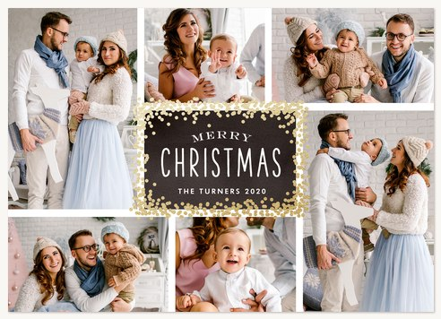 Dazzling Flurry Christmas Cards