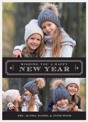 Vintage New Year Wish