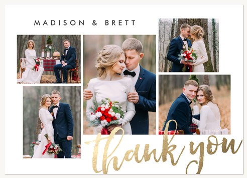 Wedding Thank You Cards Thanks Multiplied